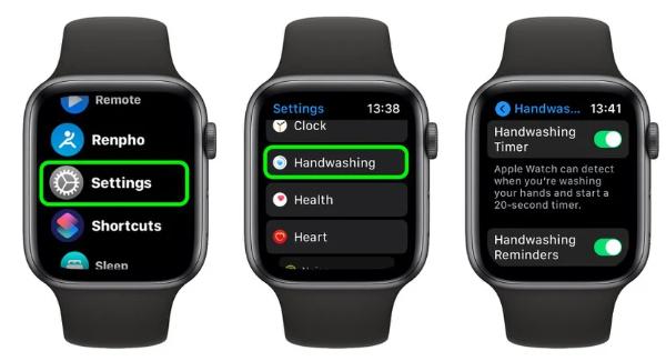 اپل WatchOS 7 برای مبارزه با کرونا