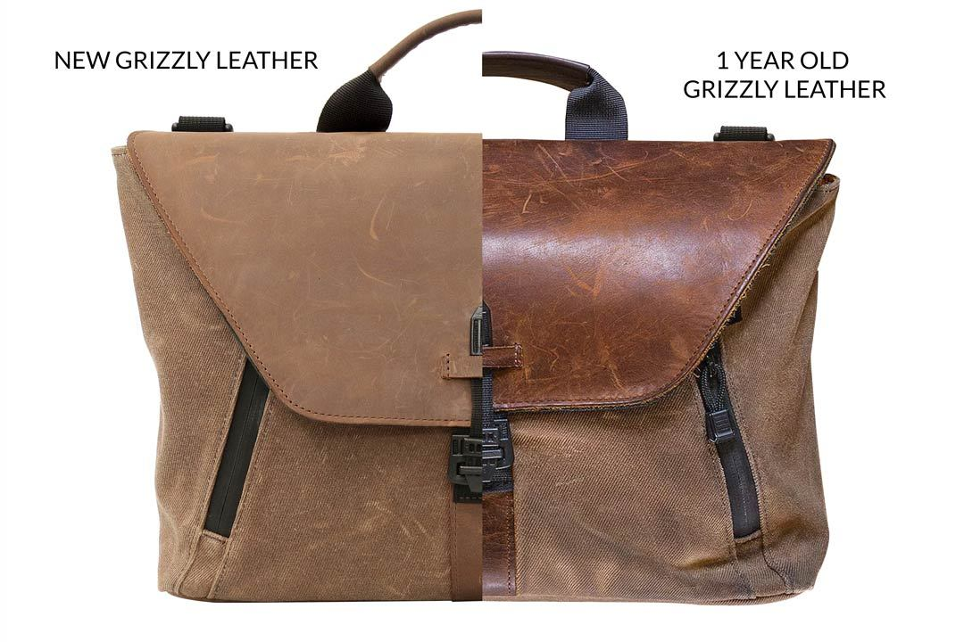 کیف شانه ای با برند Waterfield Designs