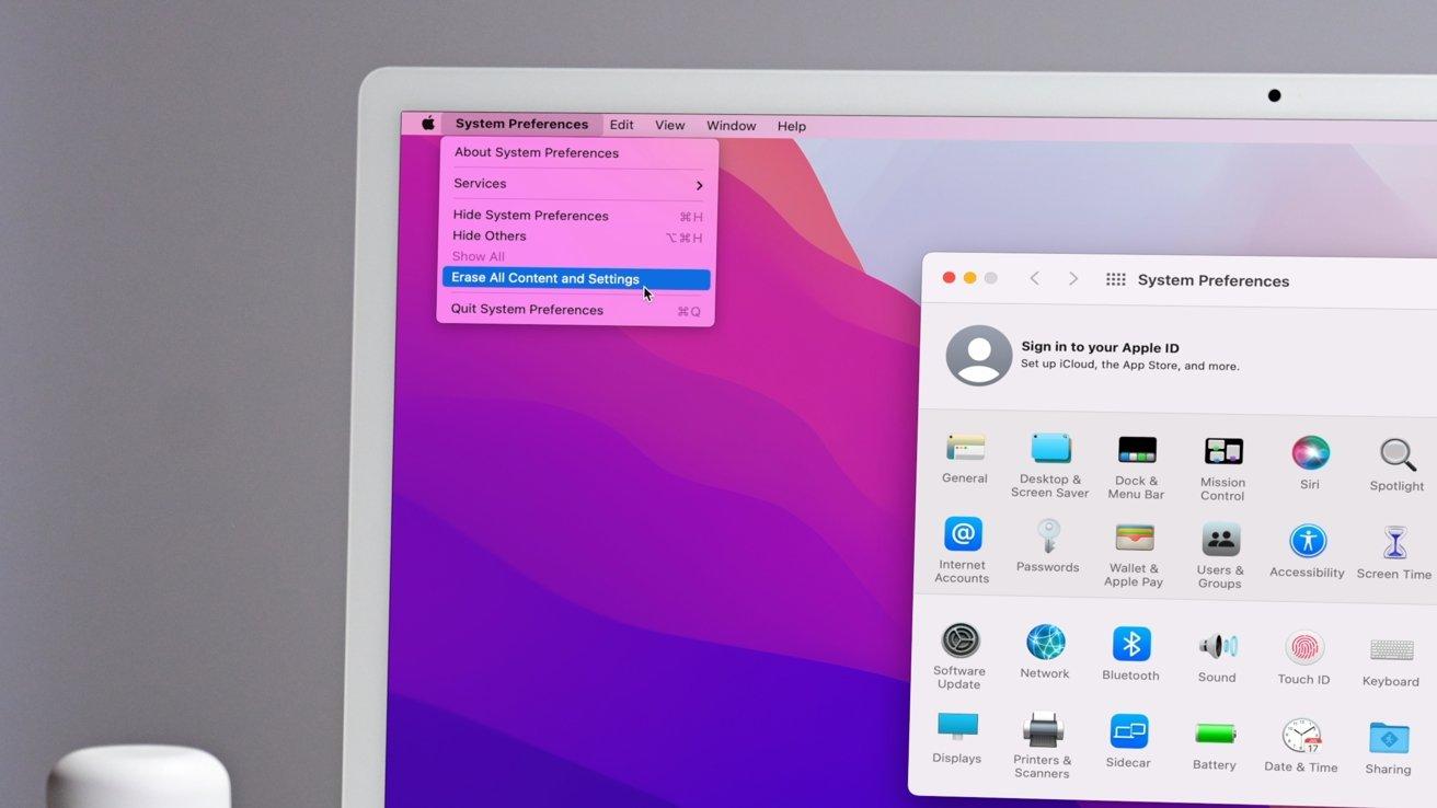 macOS را دوباره نصب کنید