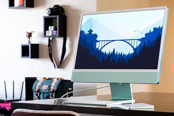 نمایشگر آیمک ۲۴ اینچی